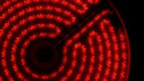 Ультракрасная электрическая плита поворачивает дальше, нагревает до максимума и  видеоматериал