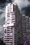 Ультракрасное старое здание Стоковое Изображение RF
