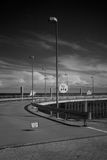 Ультракрасный порт фото датчиков Borkum Стоковые Фото