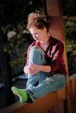 ультрамодное девушки предназначенное для подростков стоковое фото