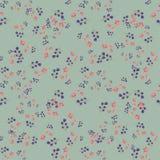Ультрамодный безшовный цветочный узор в векторе Стоковая Фотография