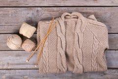 Ультрамодный пуловер зимы Стоковое Изображение