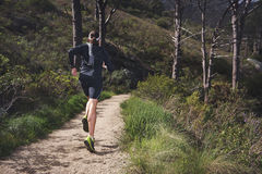 Ультра человек марафона Стоковое Фото