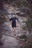 Ультра человек марафона Стоковые Изображения RF