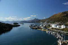 Удя гавань стоковое изображение rf