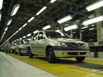 Фабрика автомобиля Стоковые Фотографии RF