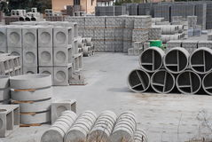 фабрика бетона 4 Стоковые Фото