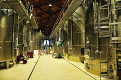 Фабрика вина сицилийского marsala современная Стоковое Изображение RF