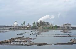 Фабрика в Азии Стоковые Фотографии RF
