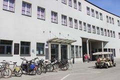 Фабрика в Кракове, Польша эмали Oskar Schindler стоковое фото