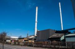 Фабрика в Nykoebing f в Дании Стоковые Фотографии RF