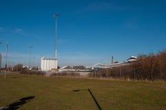 Фабрика в Nykoebing f в Дании Стоковые Изображения RF