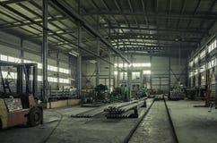 Фабрика где произведенный бурильной трубе Стоковая Фотография