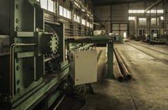 Фабрика где произведенный бурильной трубе Стоковые Фотографии RF