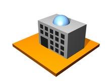 фабрика здания промышленная иллюстрация вектора