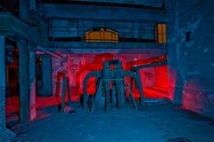 Фабрика картины механизма светлая стоковое фото