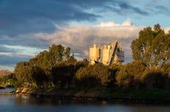 Фабрика кирпича в Footscray стоковое изображение rf