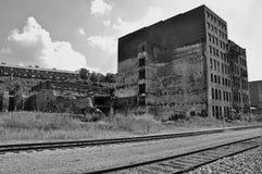 фабрика кирпича старая Стоковые Фотографии RF