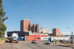 Фабрика компании Nestle в Estcourt Стоковые Изображения RF