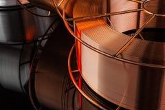 Фабрика медного кабеля Стоковое фото RF