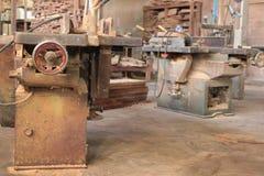 Фабрика мельницы традиции деревянная в Таиланде Стоковая Фотография RF