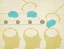 Фабрика мозга Стоковые Изображения
