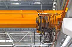 Фабрика надземного крана Стоковые Изображения RF