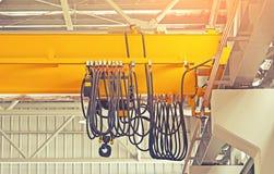 Фабрика надземного крана Стоковое Изображение