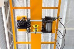 Фабрика надземного крана Стоковое фото RF