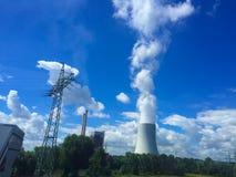 Фабрика облака Стоковая Фотография