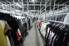 Фабрика одежды Стоковые Фото