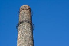 фабрика печной трубы Стоковое Изображение RF