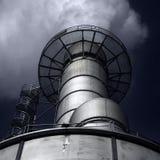 фабрика печной трубы Стоковые Фотографии RF