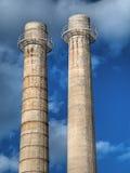 фабрика печных труб Стоковая Фотография RF