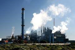 фабрика печных труб Стоковые Фото