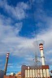 1 фабрика печных труб Стоковая Фотография RF