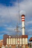 1 фабрика печных труб Стоковое фото RF
