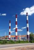 фабрика печных труб Стоковое Изображение