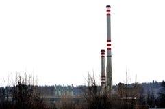 1 фабрика печных труб Стоковое Изображение RF