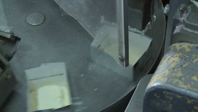 Фабрика продукции масла видеоматериал
