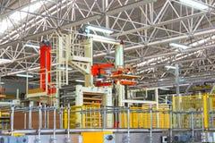 фабрика промышленная Стоковое Изображение