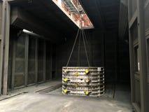 Фабрика плавильни стоковые фото