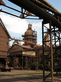 Фабрика района Industriald металлургического предприятия Стоковые Фотографии RF