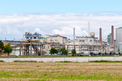 Фабрика сахарного завода стоковое фото
