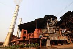 Фабрика сахарного тростника Стоковые Фотографии RF