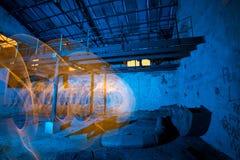 Фабрика светлой картины старая стоковое изображение