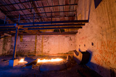 Фабрика светлой картины старая стоковая фотография rf