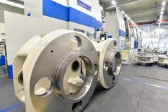 Фабрика современного машиностроения - продукции коробки передач стоковое изображение rf