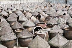 Фабрика соевого соуса Китая традиционная Стоковая Фотография RF
