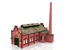 фабрика старая иллюстрация вектора